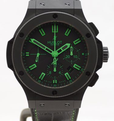 Big Bang All Black-Green