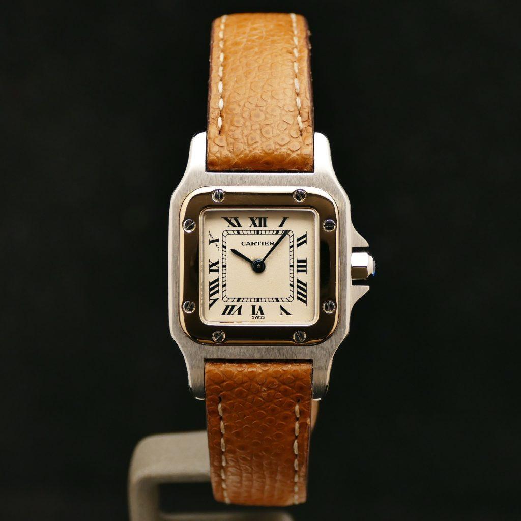 Cartier Santos or acier montres watches